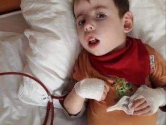 Мати благає про допомогу на порятунок хлопчика з громади Володимира