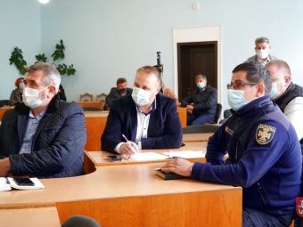 Ціни на газ та «помаранчевий» рівень епіднебезпеки обговорили на засіданні комісії ТЕБ і НС у Володимирі