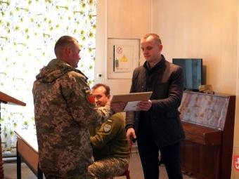 У Володимирі відзначили кращих військовослужбовців 2-ої зенітно-ракетної батареї