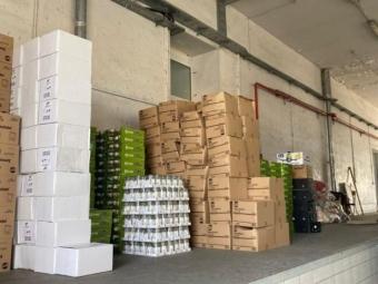 На «Ягодині» у фурі знайшли контрабанду на понад 2,5 мільйона гривень