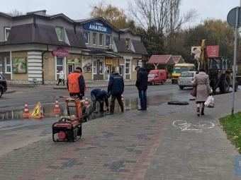 На більшості вулиць Володимира 14 листопада відключать водопостачання, проводяться ремонтні роботи