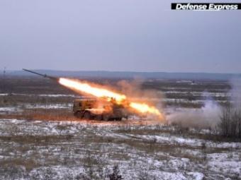 В Україні випробували новітню систему залпового вогню «Буревій»