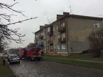 Повідомили деталі пожежі на вулиці Шевченка у Володимирі