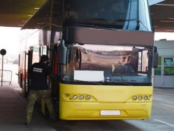 На кордоні не пустили автобус з України