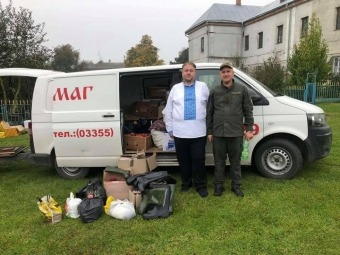 З Володимир-Волинської єпархії відправили допомогу на Схід