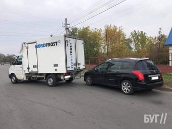 У Вододимирі трапилася ДТП за участю легковика та вантажівки