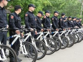 На Волині можуть їздити велосипедні поліцейські патрулі
