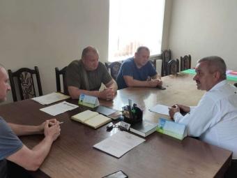 Голова районної ради провів виїзну робочу зустріч