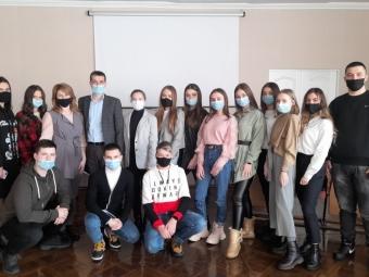 У Володимирі-Волинському провели засідання Школи лідерів учнівського самоврядування