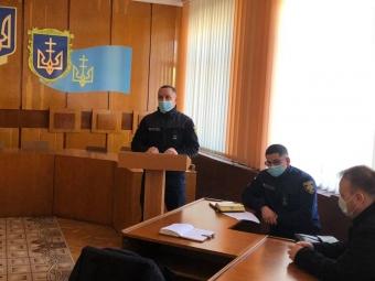 Круглий стіл щодо запобігання пожеж у районі провели у Володимирі-Волинському
