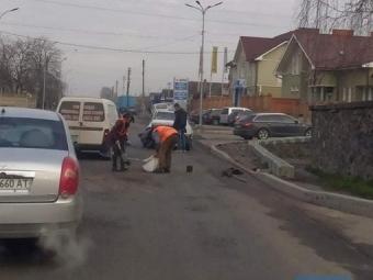 У Володимирі біля танку сталася ДТП