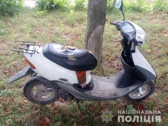 У Володимир-Волинському районі підлітки викрали скутер