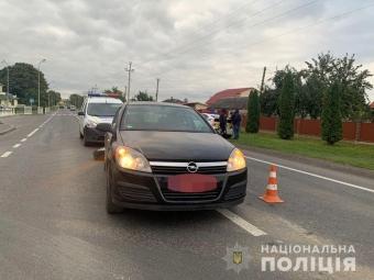 У Володимирі трапилася ДТП за участю Mercedes-Benz та Opel Astra
