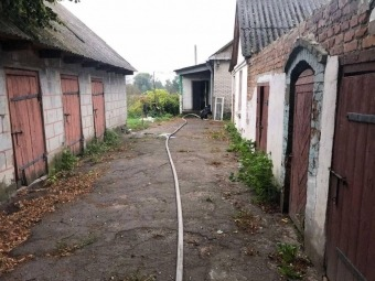 У селі Зимне сталася пожежа в житловому будинку