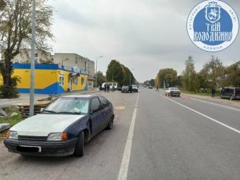 Внаслідок ДТП у Володимирі постраждала дитина