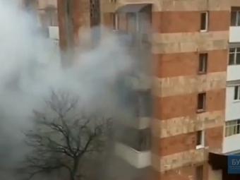 У Нововолинську – пожежа в багатоповерхівці, є потерпілий