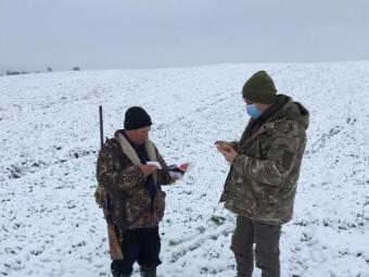 На Волині перевірили, чи дотримуються мисливці умов полювання