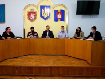 У Володимирі відбулося перше засідання виконкому