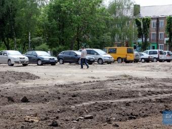 У центрі Володимира облаштують нові автомобільні парковки