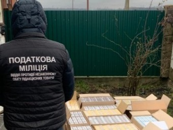 На Волині у чоловіка знайшли велику партію контрабандних сигарет
