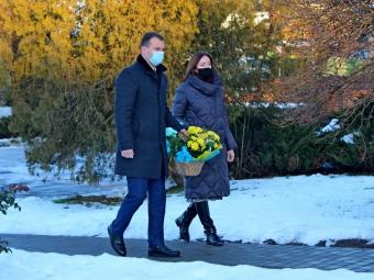 У Володимирі відбулось покладання квітів з нагоди Дня Соборності України