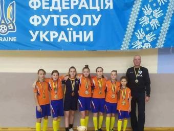 Спортсменки з Володимира стали чемпіонками України з футзалу