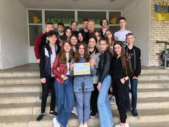Школа Володимира потрапила у десятку кращих в Україні
