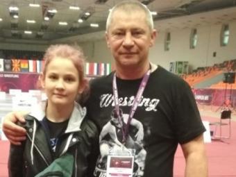 Володимирчанка посіла призове місце на Чемпіонаті Європи з вільної боротьби
