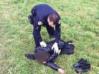 У Сельці поліцейський офіцер врятував чоловіка
