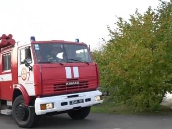 Володимирі-Волинському рятувальники ліквідували умовну пожежу на котельні