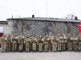 Військових 14 бригади нагородили відзнаками та грамотами