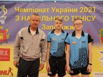 Волинський тенісист став срібним призером чемпіонату України