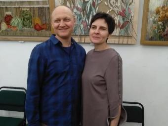 Художники з Володимира презентували персональну виставку в Дубенському замку