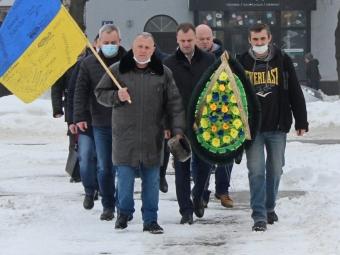 У Володимирі вшанували пам'ять Героїв Небесної Сотні