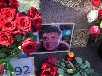 У Росії відзничили річницю вбивства Бориса Нємцова