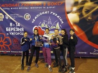Володимирські боксерки завоювали срібло та бронзу на Чемпіонаті України