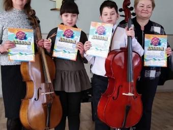 Вихованці Володимир-Волинської дитячої музичної школи вибороли перемогу на Всеукраїнському конкурсі