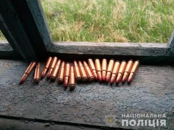 У Володимир-Волинському районі знайшли схованку з боєприпасами
