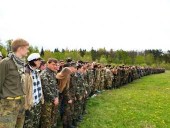 Молодь запрошують на теренову гру «Звитяга»