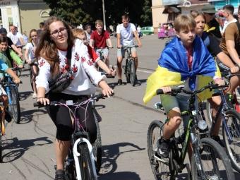 Півтори сотні велосипедистів узяли участь у велопробізі з нагоди Дня міста