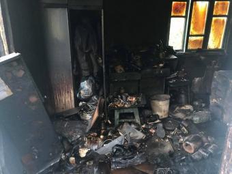 У селі Зимнівської громади внаслідок пожежі у будівлі загинув чоловік