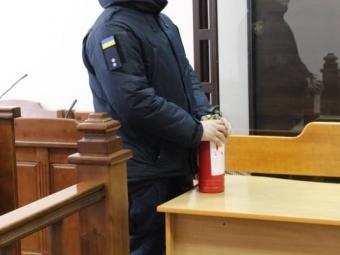 Володимир-Волинські рятувальники нагадали охоронцям та працівникам місцевого суду про пожежну безпеку