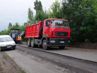 Розпочато ремонт дороги до Іваничів