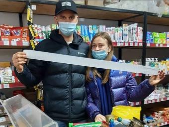 Покупці гуртівні - переможці акції «Найбільший чек» у січні.