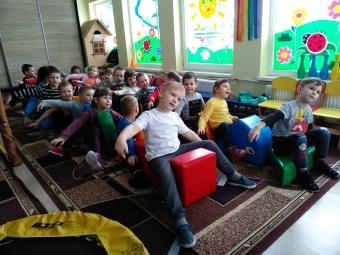 Вихованців із «Сонечка» посвятили в юні космонавти