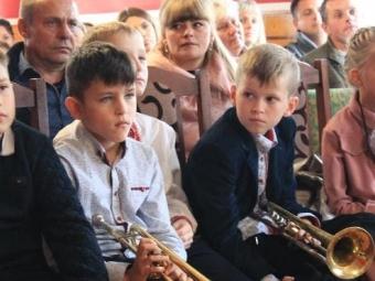 Відбулася посвята юних жителів Локачинщини в музиканти