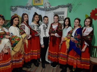 Талановита руснівська молодь вітатиме односельців з Різдвом