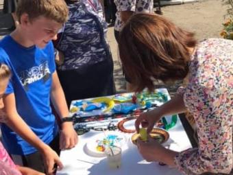 Ще у трьох селах Локачинської громади пройшла акція «Кожній дитині – можливості для творчого розвитку»