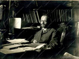 Агатангел Кримський – неодмінний секретар Української академії наук
