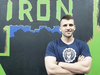 Тренер «Iron Gym» розповів про спорт, харчування та емоційний баланс